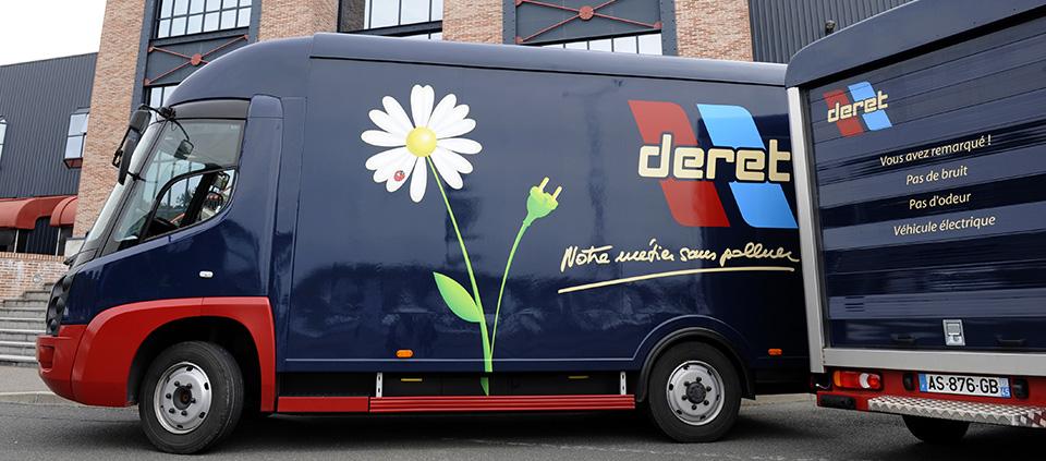 Camion Electrique Deret